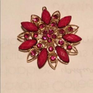 Accessories - Elegant Women Retro Vintage Crystal Diamond flower